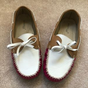 Pink Boating Shoes